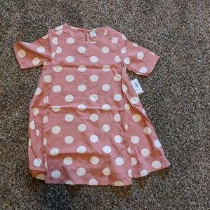NWT pink polkadot dress